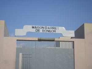 The main entrance of Bongor prison