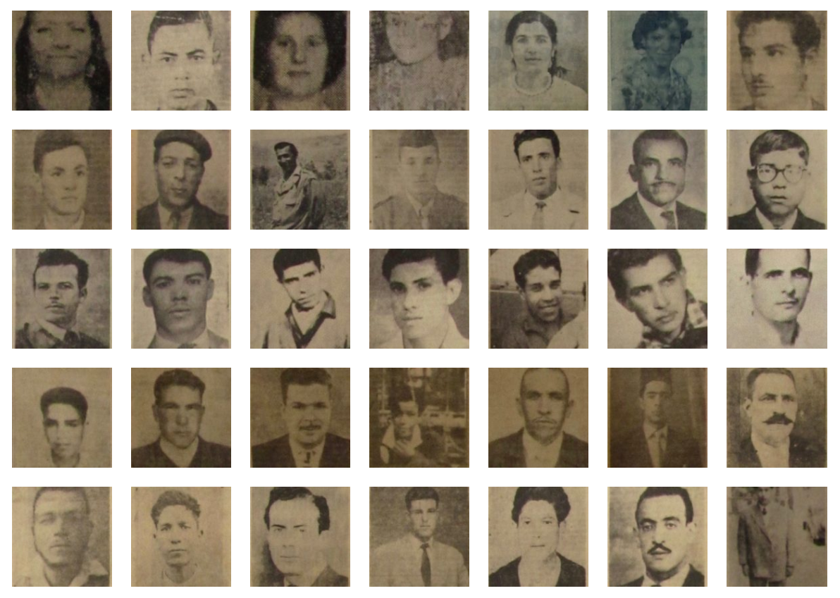 A la recherche des disparus de la guerre d'indépendance